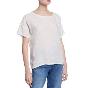 ✭ Eileen Fisher Organic Handkerchief Linen T shirt